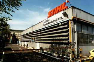 1991: Founding of STIHL Hungary