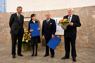 2009: Social market economy prize for the Stihl siblings