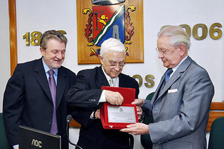 2010: São Leopoldo honorary citizenship